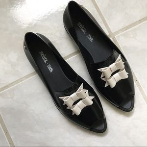 Melissa + Karl Lagerfeld Bow Oxfords